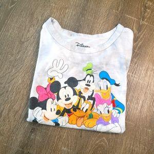 Disney character tshirt light grey size medium